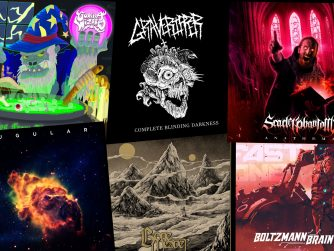 Independent metal bands album art